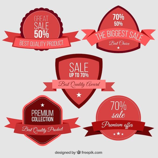 Pack of vintage badges sale