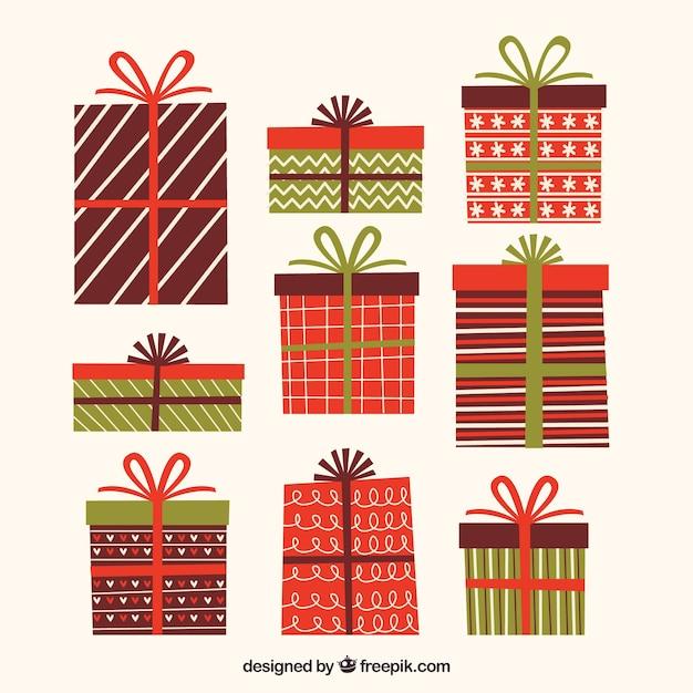 Christmas gift box free clip art