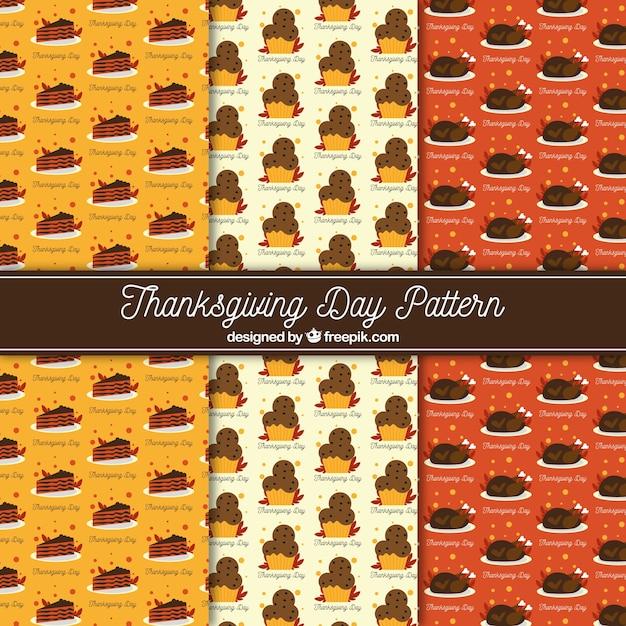Pack of vintage thanksgiving patterns