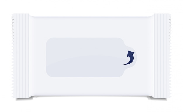 Упаковка для влажных салфеток Premium векторы