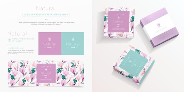 Packaging template Premium Vector