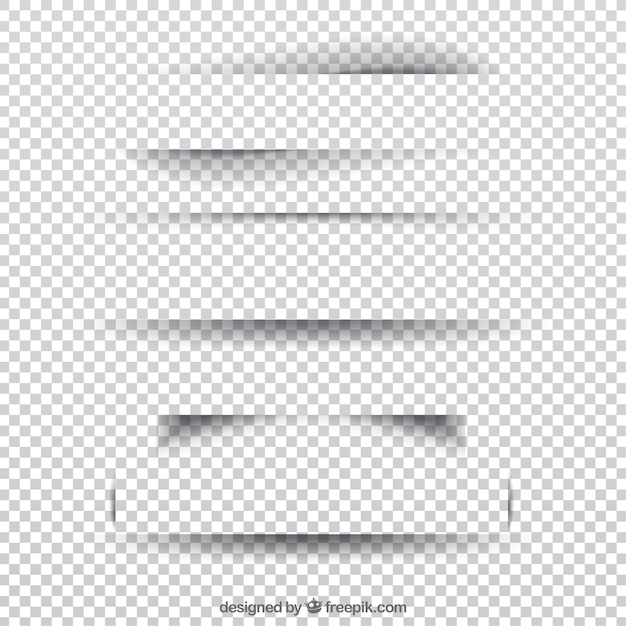 Page dividers collection without background Free Vector