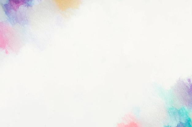 Paint border Free Vector
