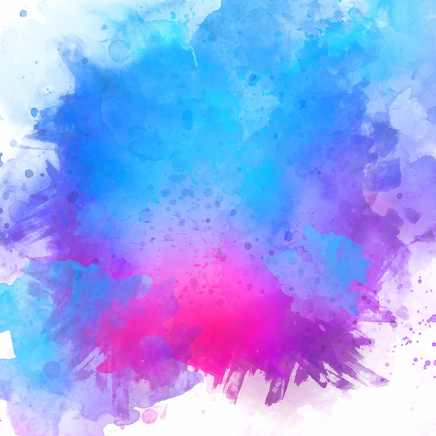 Painted watercolour texture  Free Vector