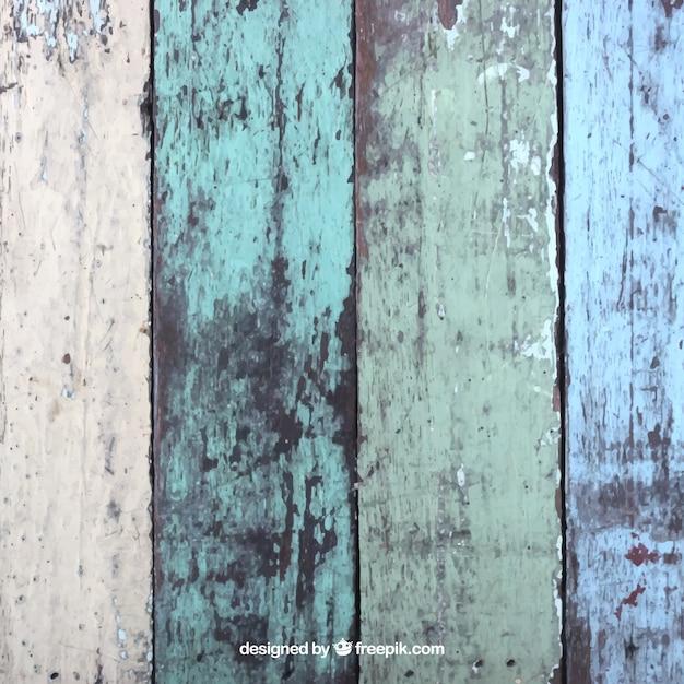 نقاشی بافت تخته های چوبی
