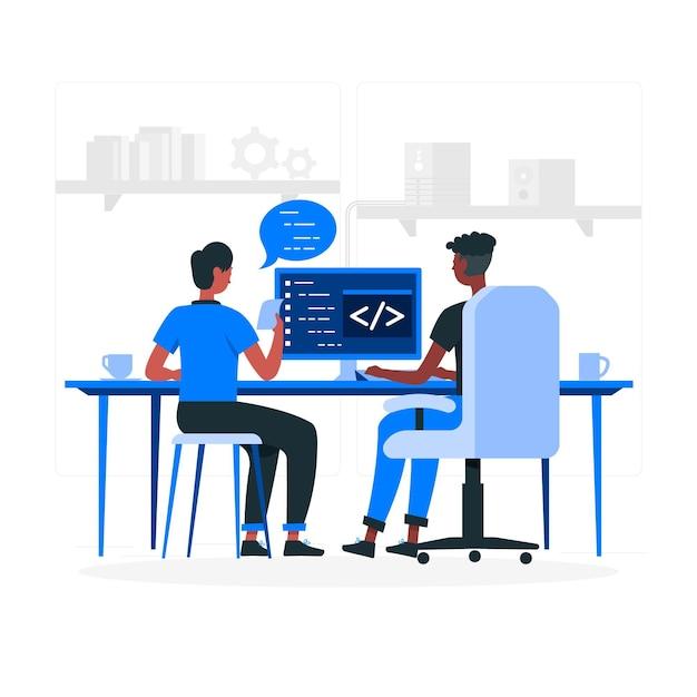 pair-programming-concept-illustration_114360-2170.jpg (626×626)
