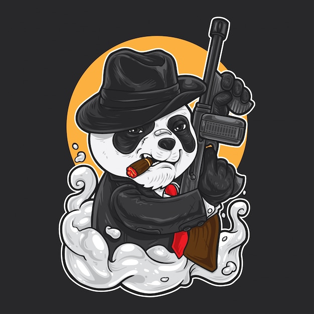 Panda mafia Premium векторы