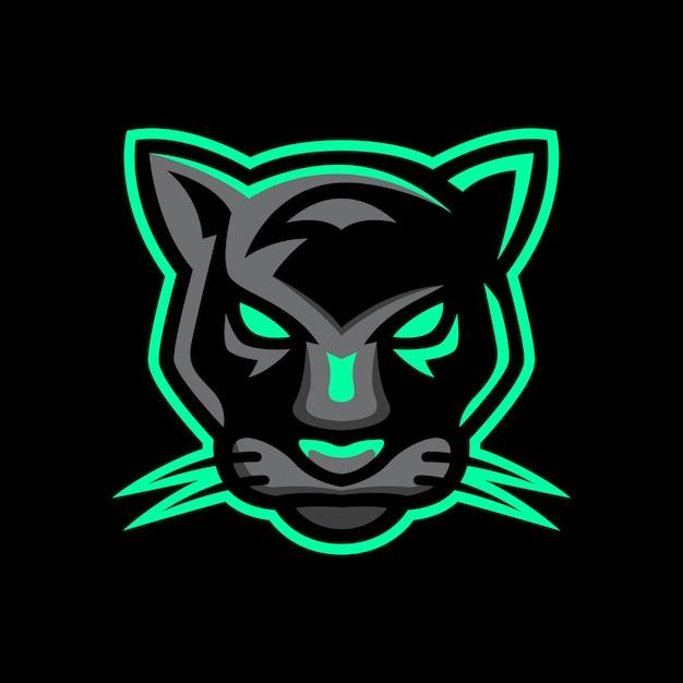 Panther sport  logo Premium Vector