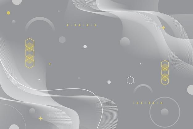 Pantone 2021 추상 물결 모양 배경 무료 벡터