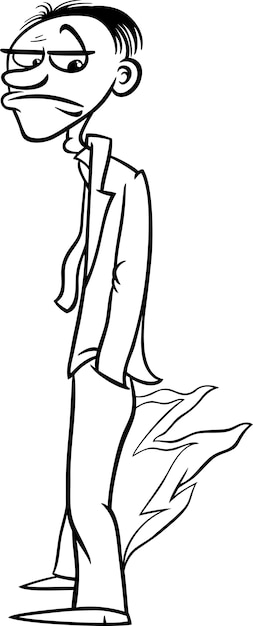 Pants on fire saying coloring page Vector | Premium Download