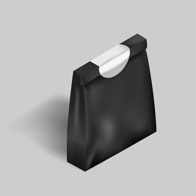 Paper bag Free Vector