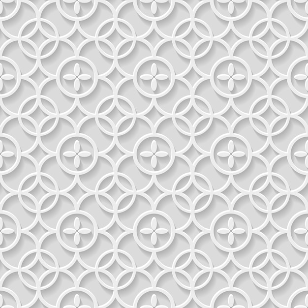 Paper gray seamless pattern Premium Vector