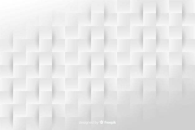 Paper style geometric shapes background Free Vector