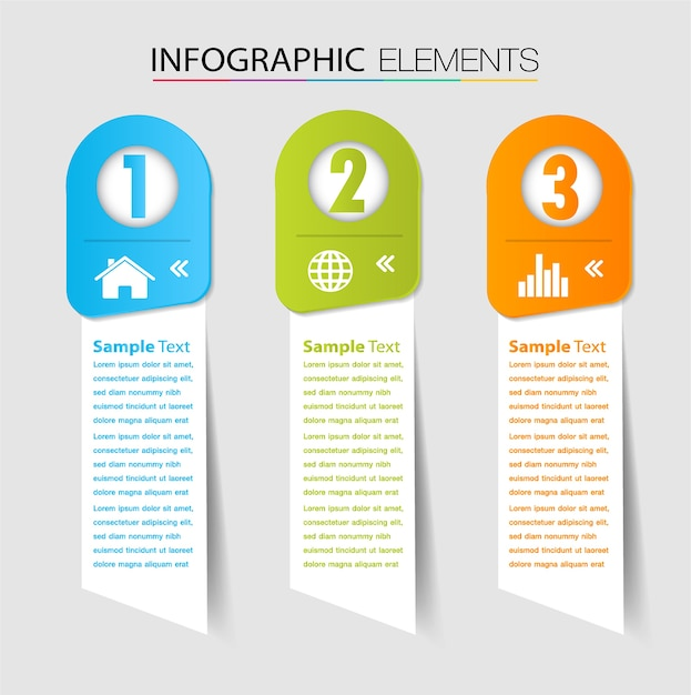 paper text box template banner infographic vector premium download