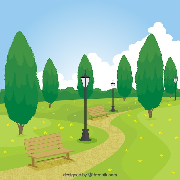Park Free Vector