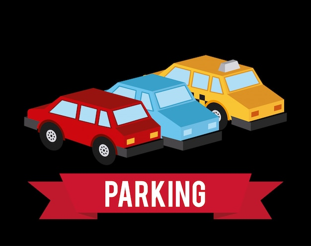 Parking Free Vector