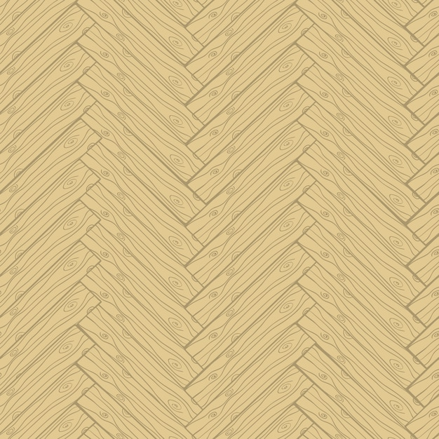Parquet cartoon doodle style seamless pattern Free Vector