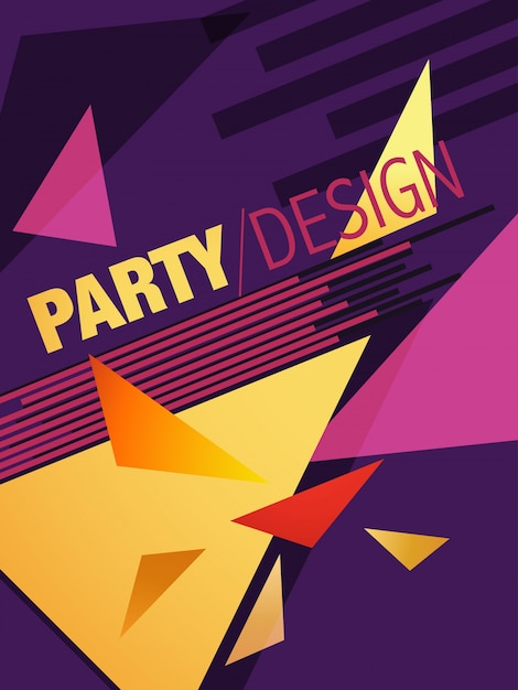 Party Brochure Template Vector | Free Download