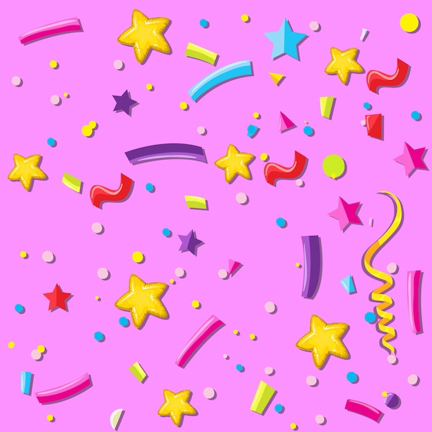 A party celebration background Free Vector