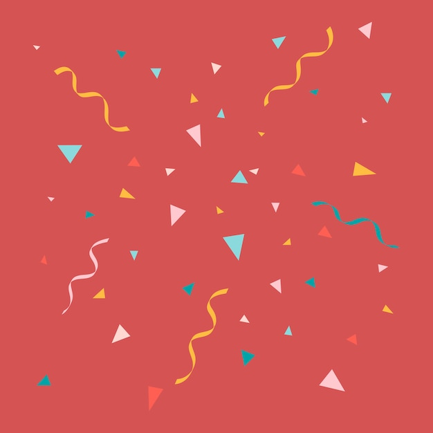 Party pattern Free Vector