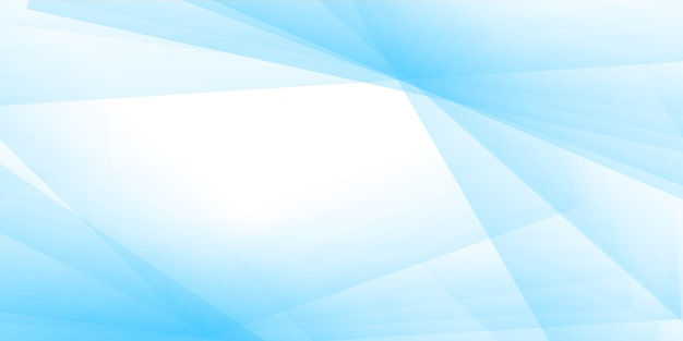 Pastel blue banner background, Free Vector