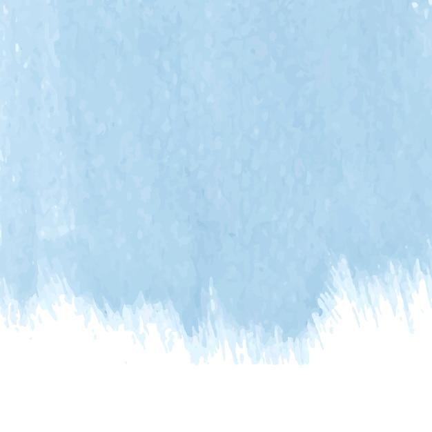 パステルブルーの水彩画の背景のベクトル 無料ベクター
