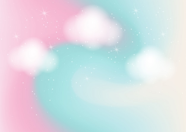 Пастельные цвета абстрактный фон с боке Premium векторы