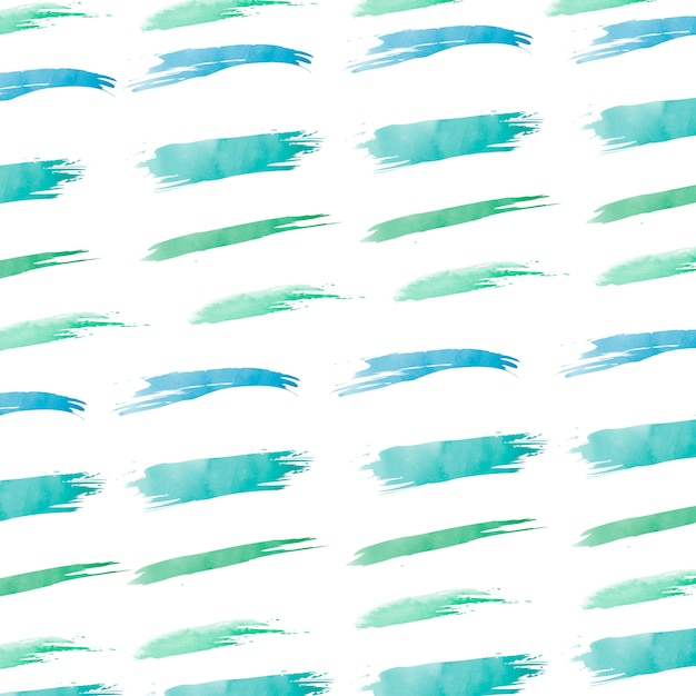 Pastel green watercolor background vector Free Vector