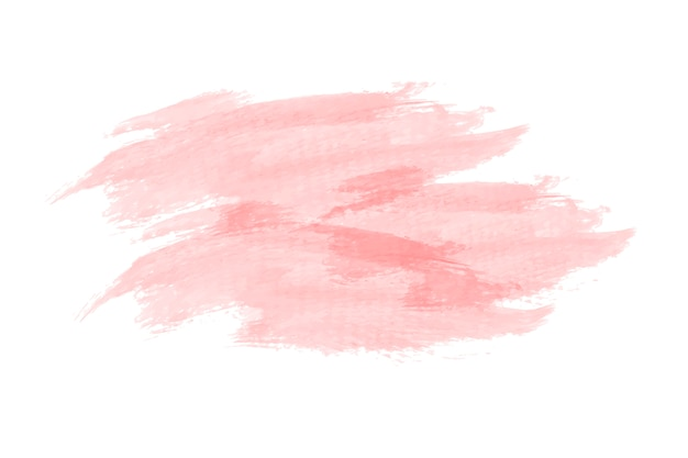Pastel peach watercolor background vector Free Vector