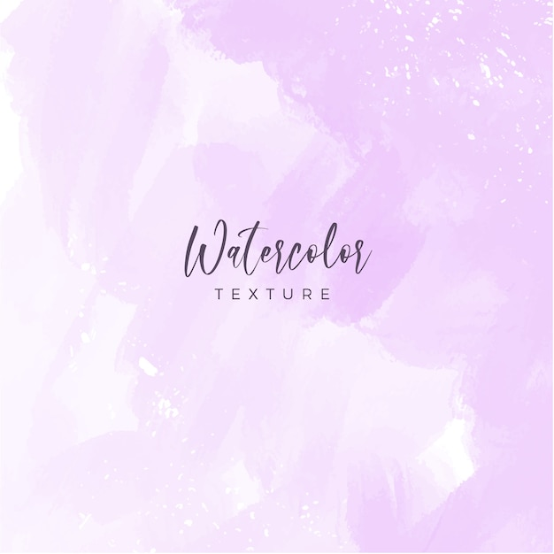Pastel pink watercolor background Free Vector