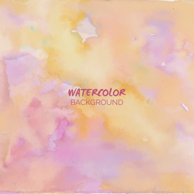Pastel watercolor background Free Vector