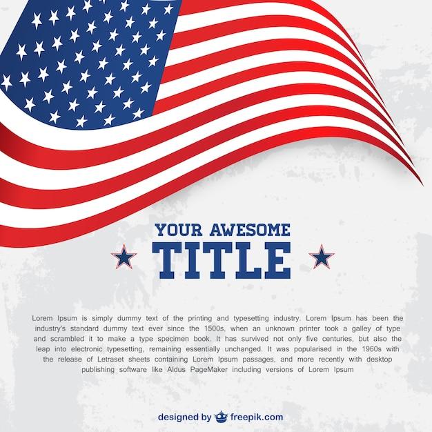 patriotic flyer template