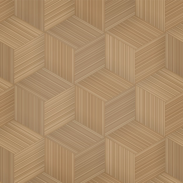 Pattern background of bamboo basketry. Premium Vector