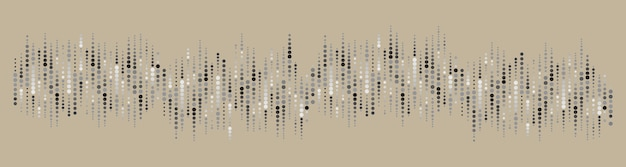 Pattern circle background from illustration Premium Vector
