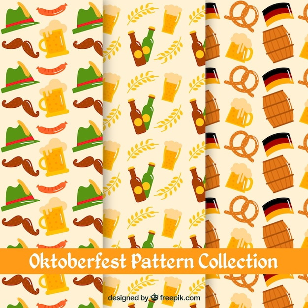 Pattern collection for german beer fest