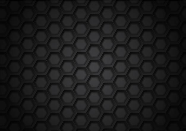 Узор шестиугольника фон аннотация Premium векторы