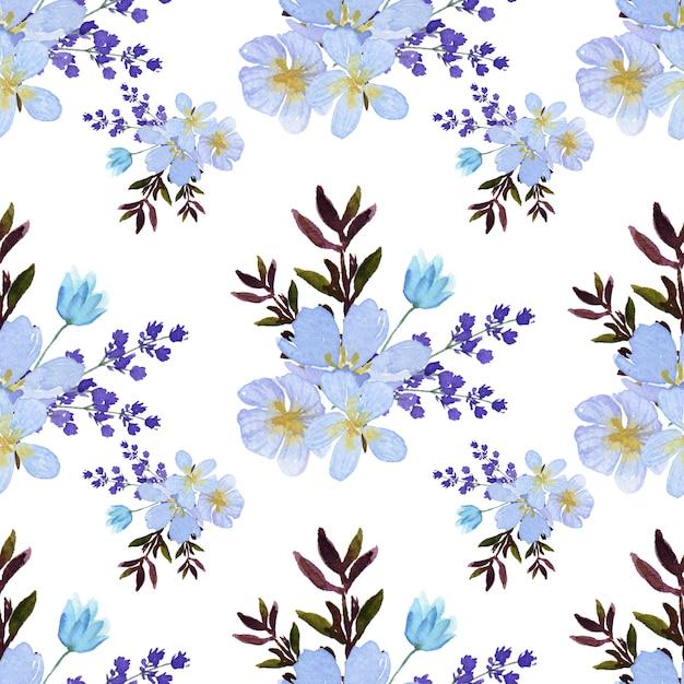 Pattern seamless  floral Premium Vector