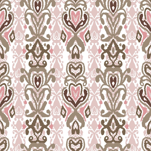 Pattern seamless folklore ornament Premium Vector