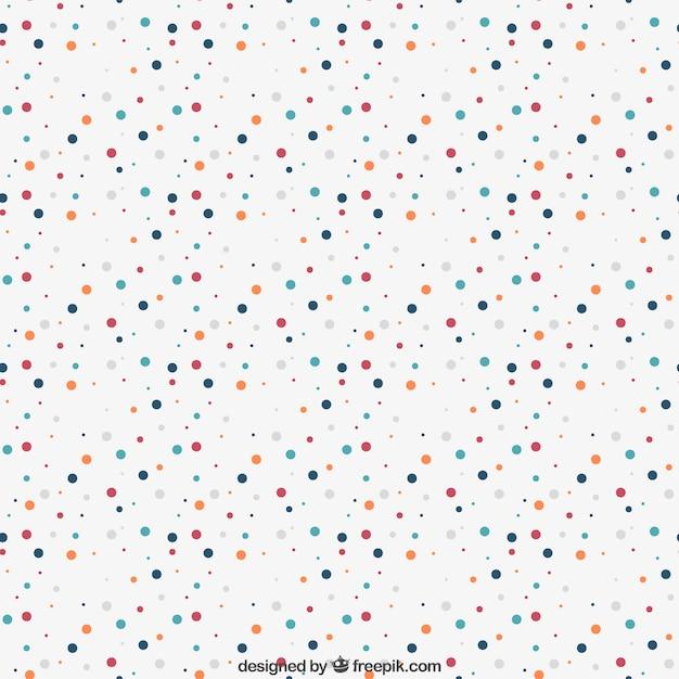 Dot Paper Template Pattern With Colorful Dots Dots Vectors Photos