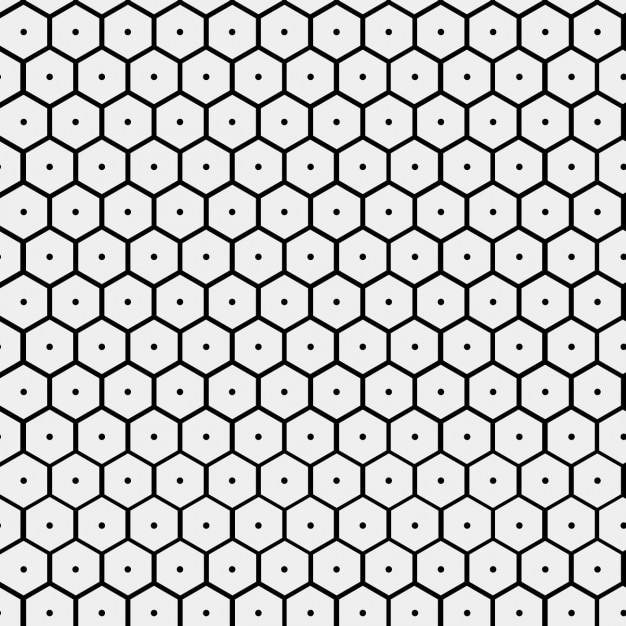 Pattern with hive form Vector | Free Download