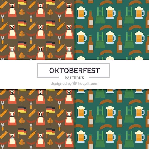 Patterns for german traditional celebration