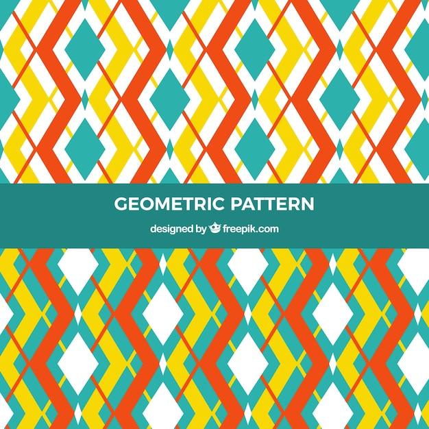 Patterns of decorative geometric shapes