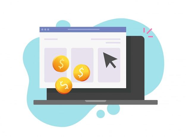 Платить за клик интернет-технологии Premium векторы