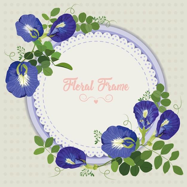 Pea flowers Vector   Premium Download