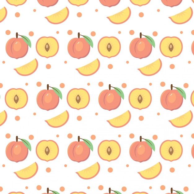 premium vector peaches and fruit vector pattern background https www freepik com profile preagreement getstarted 2569320