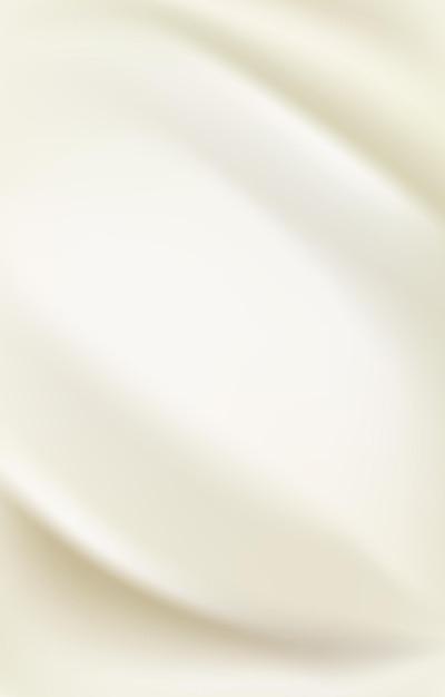 パールシルクサテン生地の背景デザイン Premiumベクター