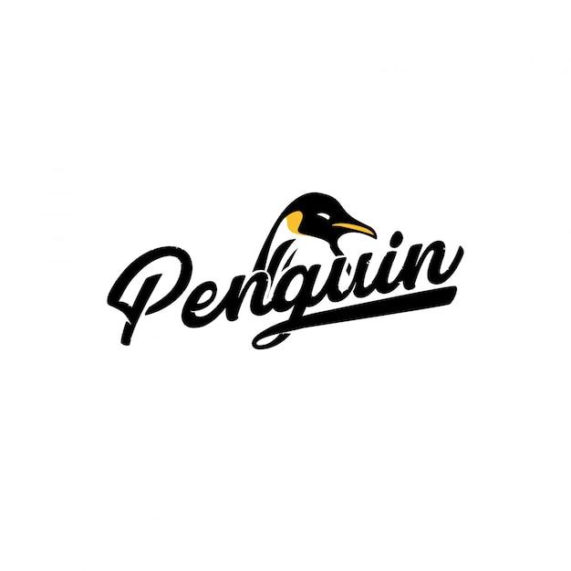 Penguin Logo Vector Premium Download
