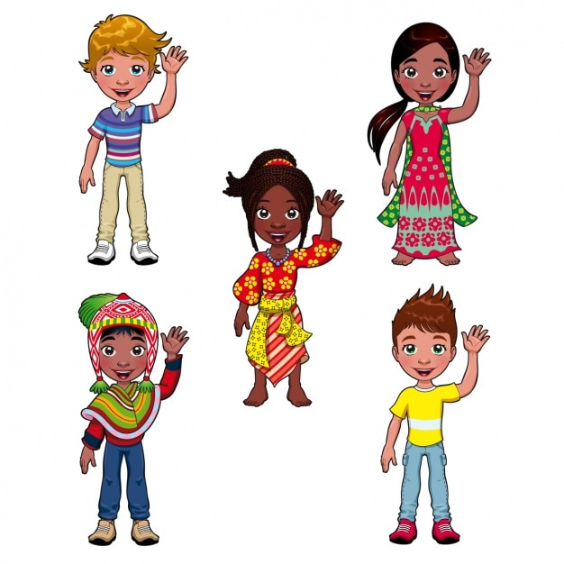 people from different cultures - Cartoon For Toddlers Free Online