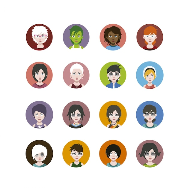 People icons collection