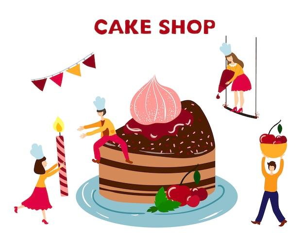 Super People Men Women Cooking Decorating Birthday Cake Premium Birthday Cards Printable Benkemecafe Filternl